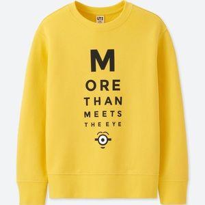 Children's Minion Sweatshirt [Fits XS Adult]